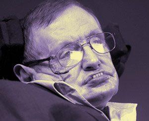 El cerebro de Stephen Hawking es un ordenador.